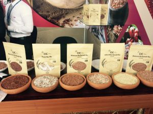 Male-owned SME rice products on display for prospective international buyers
